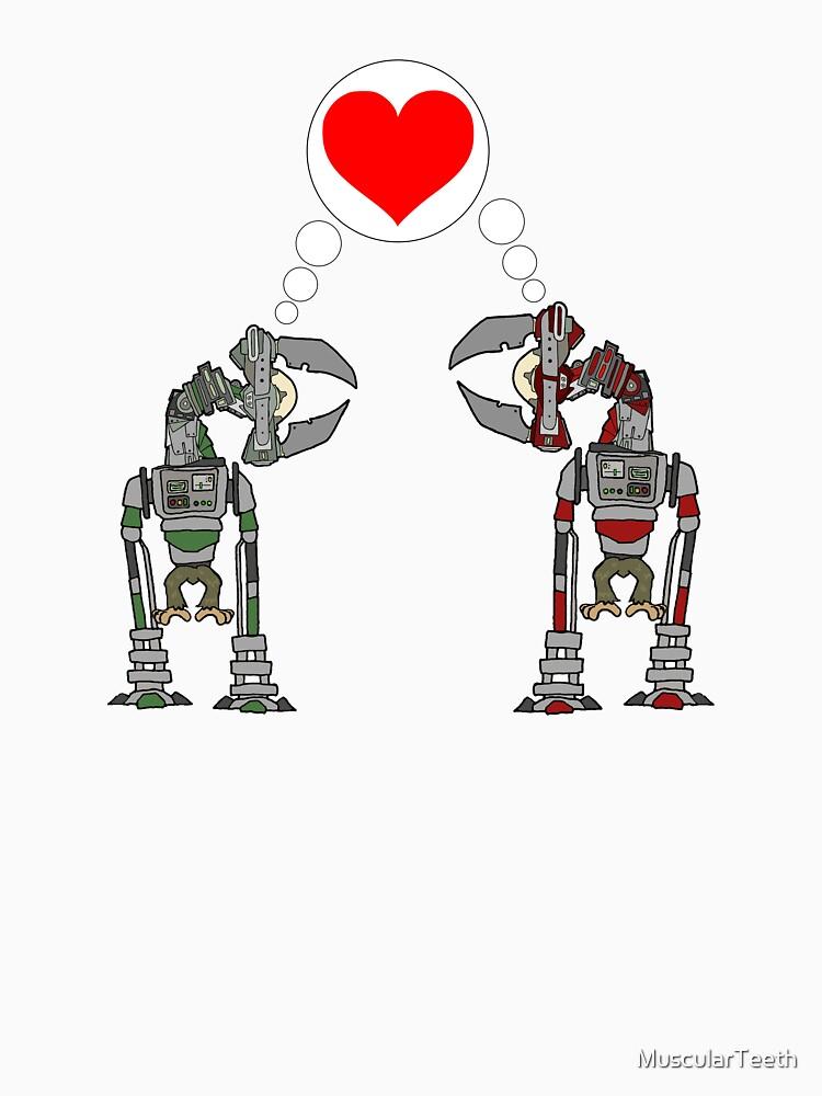 Robot Love by MuscularTeeth