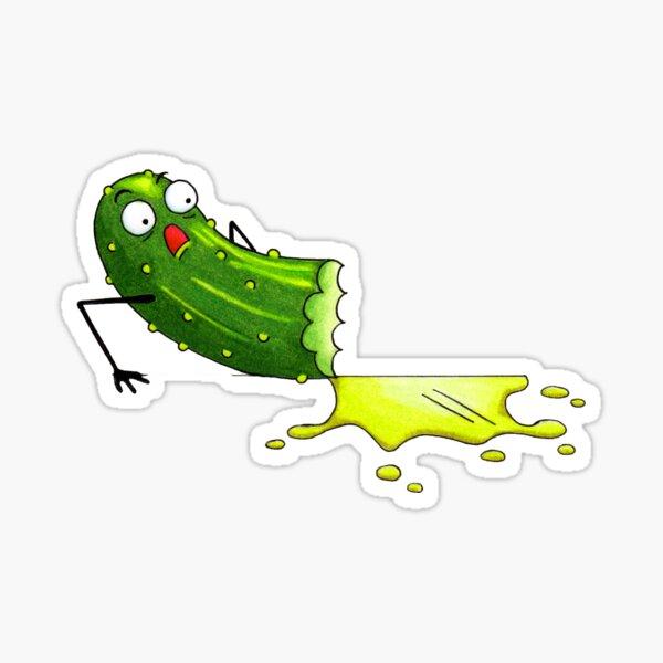 Sweet Gherkin! Sticker
