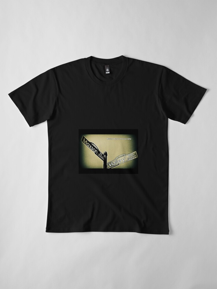Alternate view of Maxson & Valley1 El Monte CA by Mistah Wilson Photography Premium T-Shirt