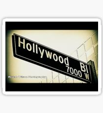Hollywood3 by Mistah Wilson Photography Sticker