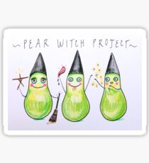 Pear Witch Project  Sticker