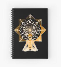 Theosophy Kemetic Egyptian Mandala Spiral Notebook