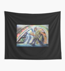 Intergalactic Superhighway Rush Hour Wall Tapestry