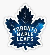 Toronto Maple Leafs Galaxy Logo Sticker