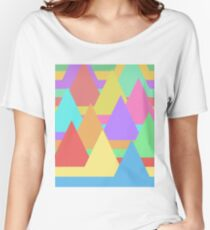 Colorful Mountains Women's Relaxed Fit T-Shirt