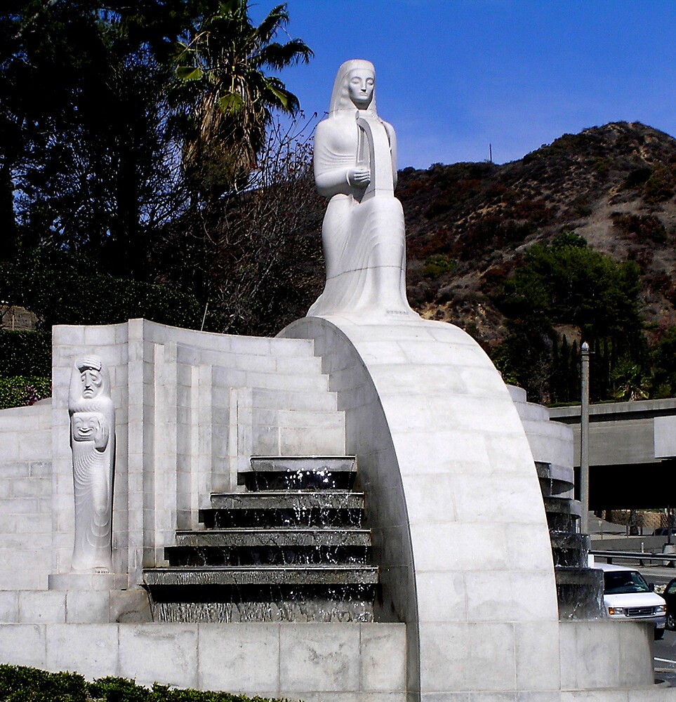 Muses Fountain, Hollywood Bowl by Christopher Biggs