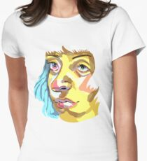 Headshot Women's Fitted T-Shirt