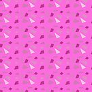 Hot Pink Confetti by SquibbleDesign