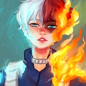 Todoroki Shoto by cobrachampagne