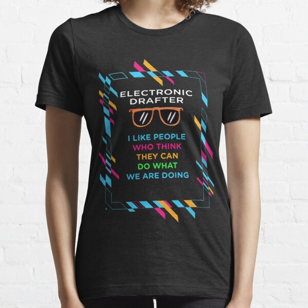 ELECTRONIC DRAFTER Essential T-Shirt