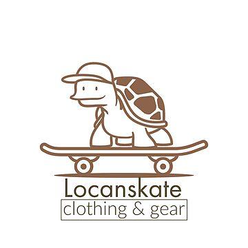 Turtle Skateboard | Locanskate by Locan