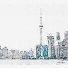 Toronto Mornings by Serge Averbukh