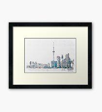 Toronto Mornings Framed Print