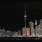 Toronto Nights by Serge Averbukh