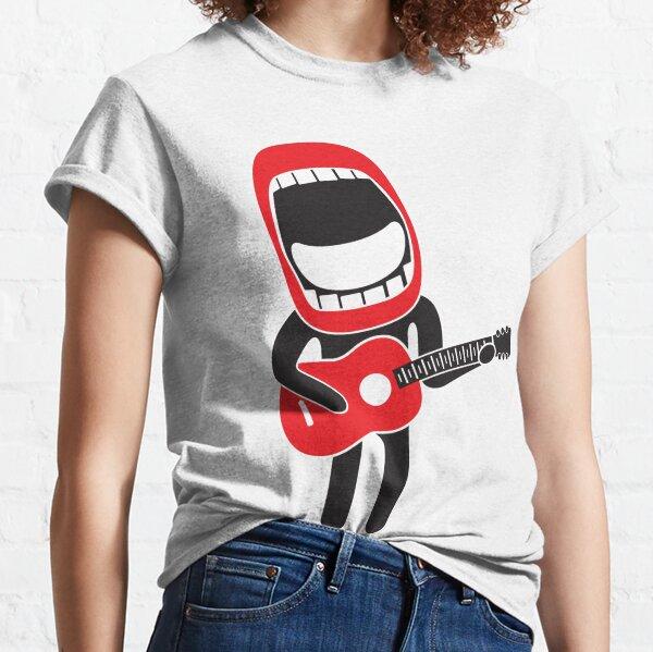 loud singing guitarist  Classic T-Shirt