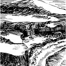 Coastal Scene by Gus Maier