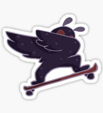radikaler Mothman Sticker