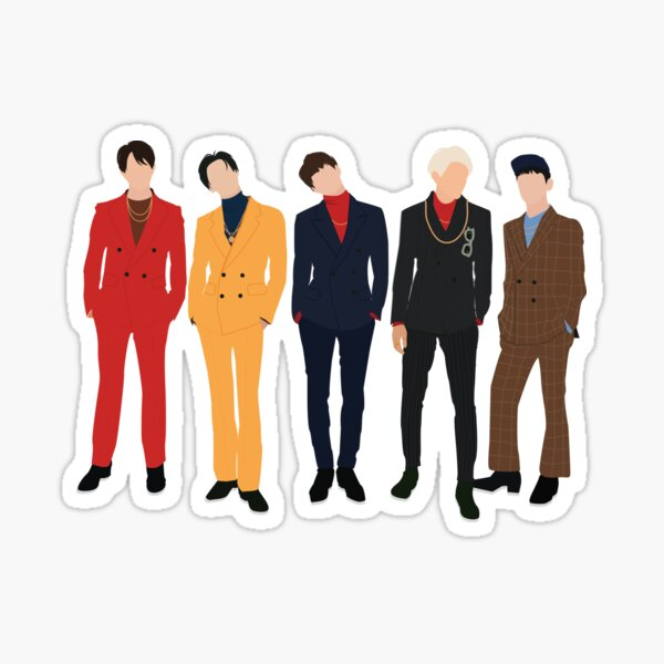 Shinee (1of1) - Grupo Pegatina