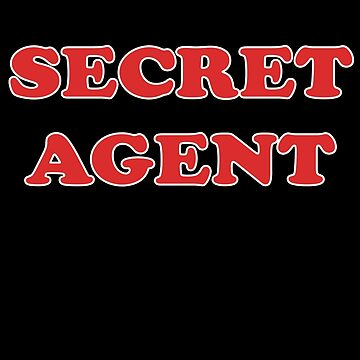 Secret Agent Kids Clothes and Adult T-Shirt by stickersandtees