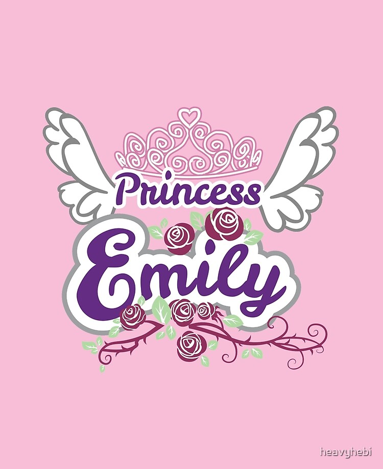 Crown Princess Emily On Board Personalised Baby Child Girls Car Sign