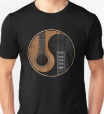 Yin Yang Guitar Unisex T-Shirt
