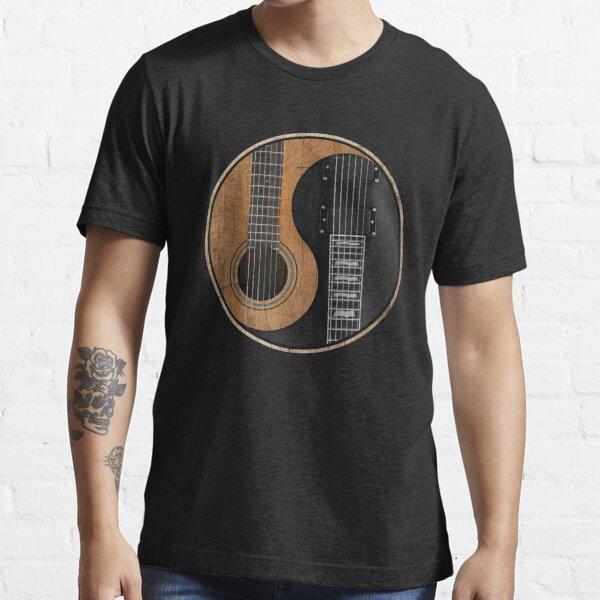 Yin Yang Guitar Essential T-Shirt