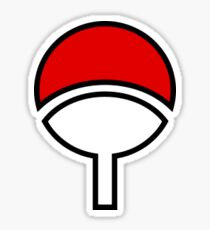 Uchiha Symbol Sticker