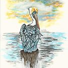 Brown Pelican by Kathleen Kelly-Thompson