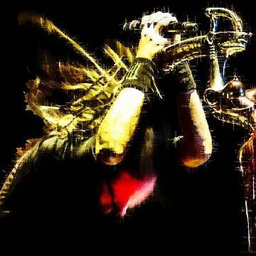 Johnathan Davis Singing_Color by AYBrett