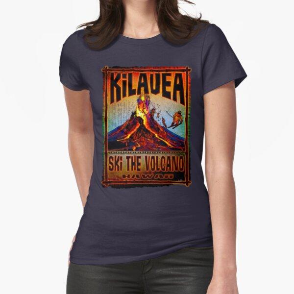 SKI KILAUEA -2 Fitted T-Shirt