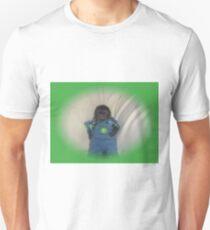 small monkey john deere Unisex T-Shirt