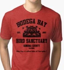 BODEGA BAY BIRD SANCTUARY Tri-blend T-Shirt