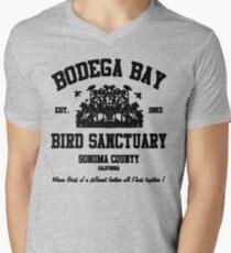 BODEGA BAY BIRD SANCTUARY Men's V-Neck T-Shirt