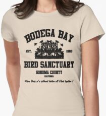 BODEGA BAY BIRD SANCTUARY Women's Fitted T-Shirt