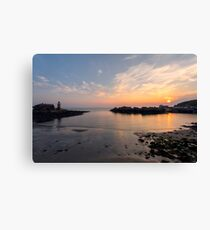 Sunset at Portpatrick Canvas Print