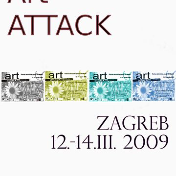 Art Attack Zagreb 2009 by monzrz