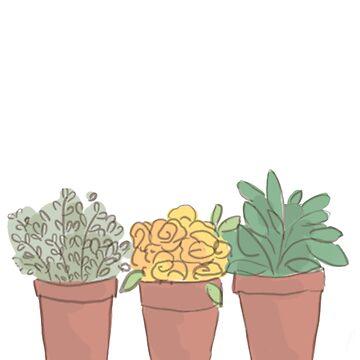 Pflanzen sind Freunde von HaleyInk