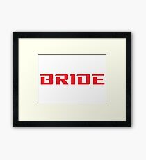 Bride Merchandise Framed Print