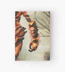 Skyrim Flame Atronach Fan Art Poster Hardcover Journal