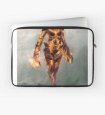Skyrim Flame Atronach Alternative Fan Art Poster Laptop Sleeve