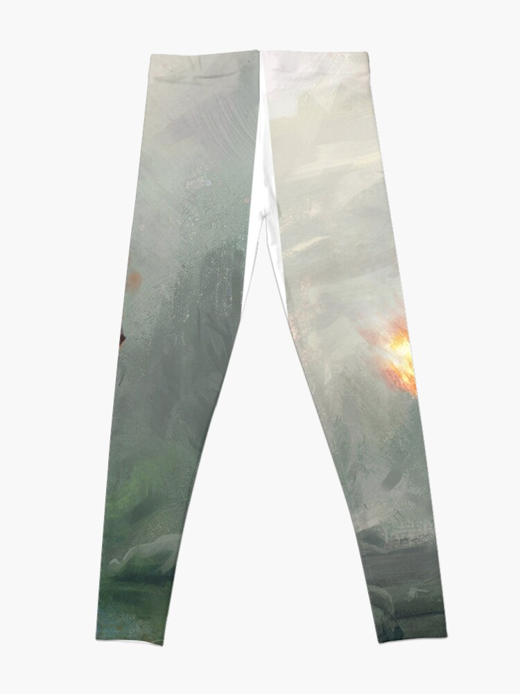 Skyrim Flame Atronach Alternative Fan Art Poster | Leggings
