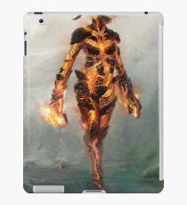 Skyrim Flame Atronach Alternative Fan Art Poster iPad Case/Skin