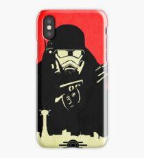 Fallout NCR Ranger Contrast Fan Art Poster iPhone Case