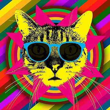 The Ultimate Cat Feline T shirt by randomarthouse