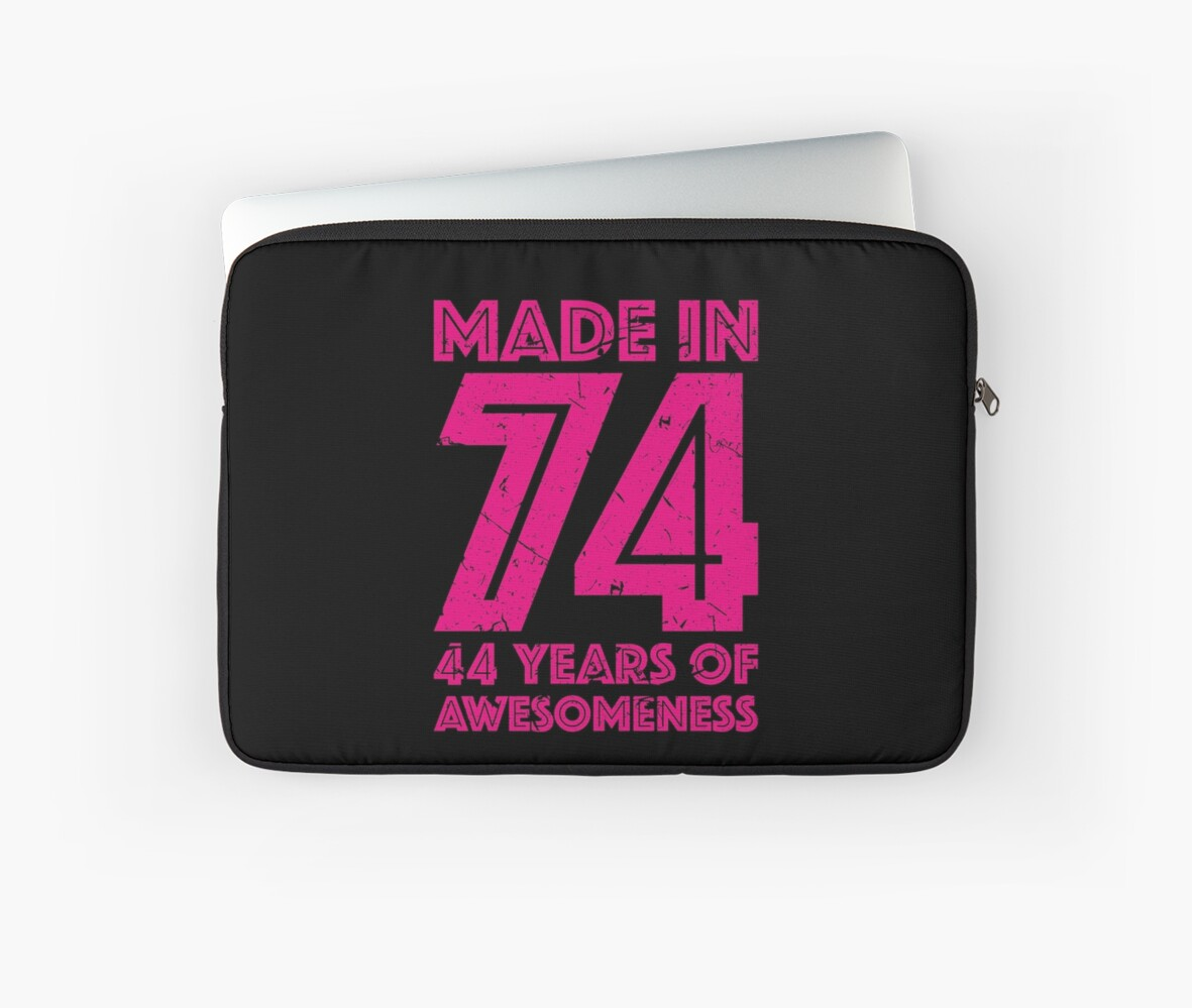 44th Birthday Gift Adult Age 44 Year Old Women Womens