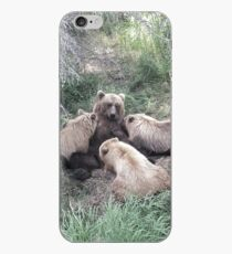 Feeding Time in Katmai National Park iPhone Case