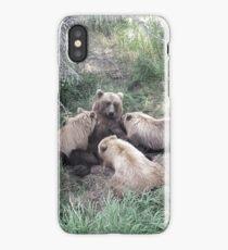 Feeding Time in Katmai National Park iPhone Case
