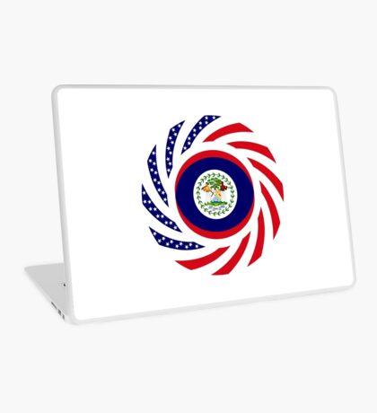 Belizean American Multinational Patriot Flag Series Laptop Skin