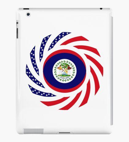Belizean American Multinational Patriot Flag Series iPad Case/Skin