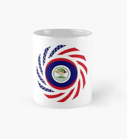 Belizean American Multinational Patriot Flag Series Mug